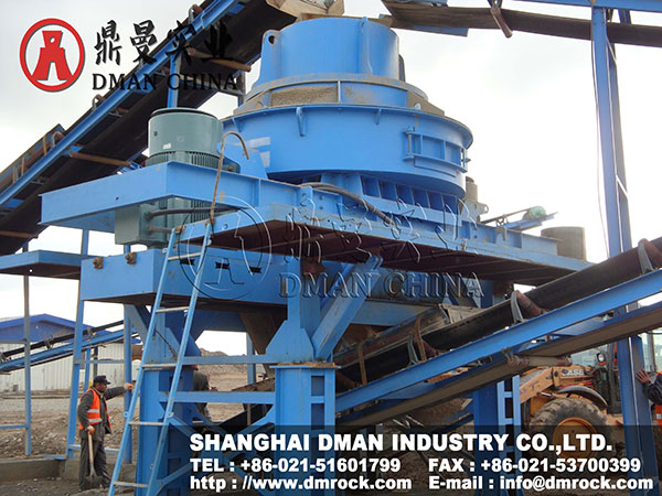 Shanghai DMAN Sand Making & Washing Production Line