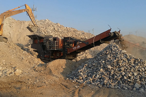 TP-J Mobile Crushing Plant